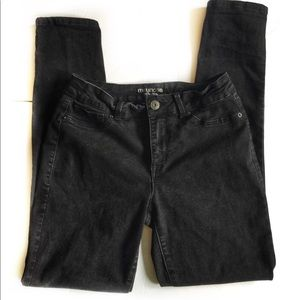 Maurice's Black Jegging High-Rise Skinny Jeans
